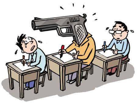 椒江警方查处全市首例公务员替考案