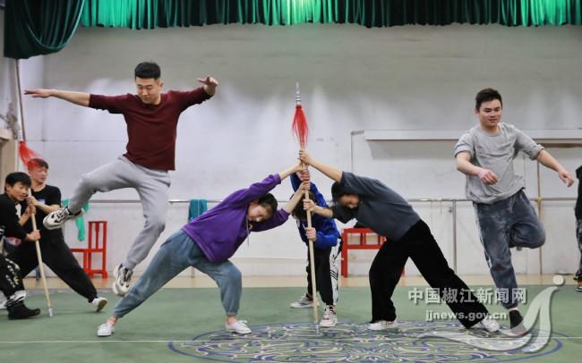 台州乱弹 排练新剧目 为新年首演做精心准备