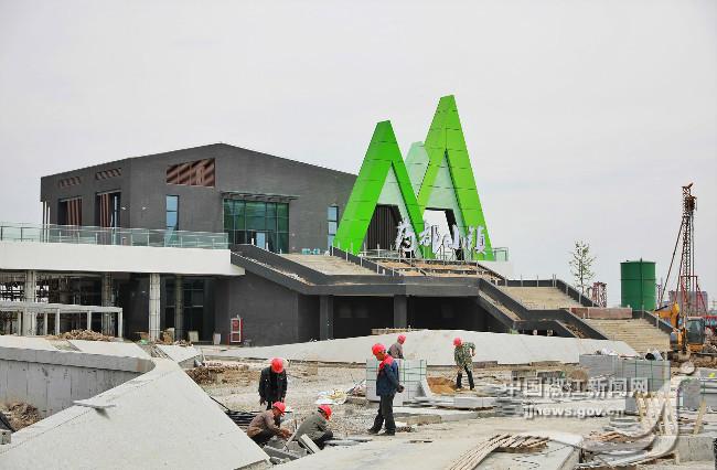 药都小镇游客服务中心项目计划于5月完工